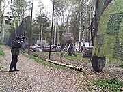Наша площадка для игры в Пейнтбол. Фото 1