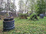 Наша площадка для игры в Пейнтбол. Фото 2