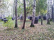 Наша площадка для игры в Пейнтбол. Фото 3